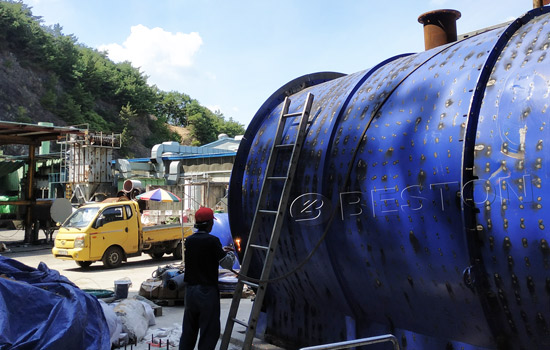 Affordable Beston Tyre Pyrolysis Equipment Cost in South Korea