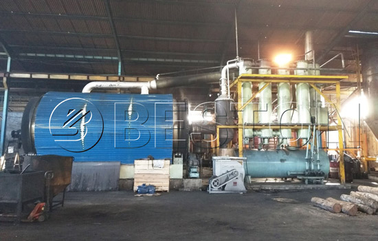 Reasonable Beston Tyre Pyrolysis Plant Cost in Indonesia
