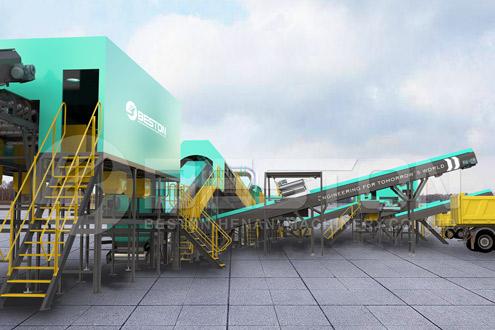 Beston Solid Waste Management Machinery
